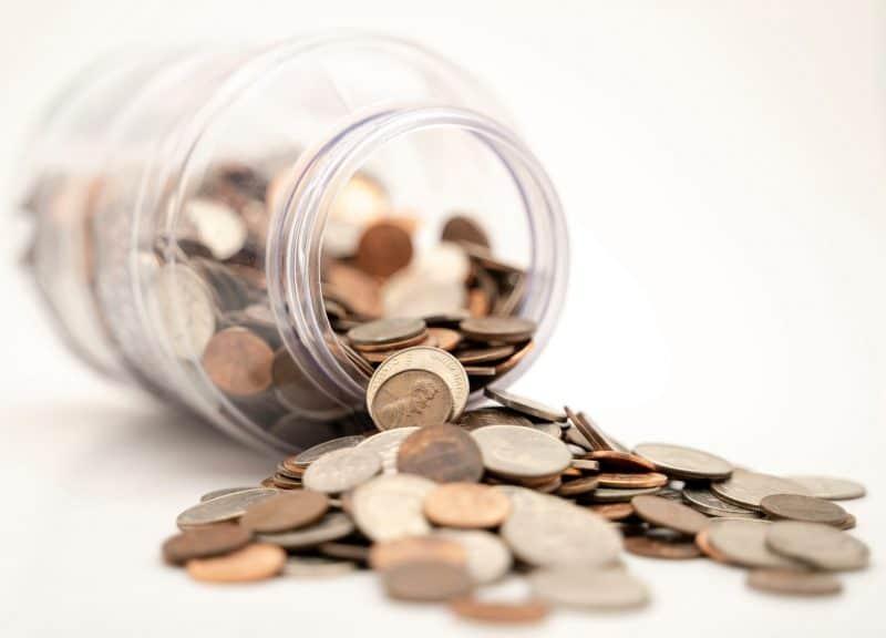 managing debts by saving money